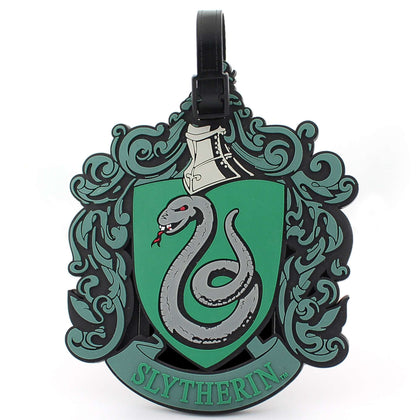 Slytherin Luggage Tag - House Of Spells