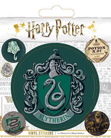 Official Slytherin Vinyl Sticker at the best quality and price at House Of Spells- Fandom Collectable Shop. Get Your Slytherin Vinyl Sticker now with 15% discount using code FANDOM at Checkout. www.houseofspells.co.uk.