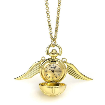 Official Golden Snitch Watch Necklace at the best quality and price at House Of Spells- Fandom Collectable Shop. Get Your Golden Snitch Watch Necklace now with 15% discount using code FANDOM at Checkout. www.houseofspells.co.uk.