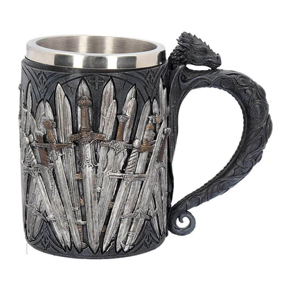Official Sword Tankard at the best quality and price at House Of Spells- Fandom Collectable Shop. Get Your Sword Tankard now with 15% discount using code FANDOM at Checkout. www.houseofspells.co.uk.