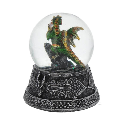 Official Enchanted Emerald Snow Globe 10cm at the best quality and price at House Of Spells- Harry Potter Themed Shop In London. Get Your Enchanted Emerald Snow Globe 10cm now with 15% discount using code FANDOM at Checkout. www.houseofspells.co.uk.