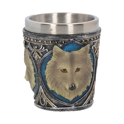 Official Lone Wolf Shot Glass- Single at the best quality and price at House Of Spells- Fandom Collectable Shop. Get Your Lone Wolf Shot Glass- Single now with 15% discount using code FANDOM at Checkout. www.houseofspells.co.uk.