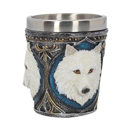 Official Ghost Wolf Shot Glass- Single at the best quality and price at House Of Spells- Fandom Collectable Shop. Get Your Ghost Wolf Shot Glass- Single now with 15% discount using code FANDOM at Checkout. www.houseofspells.co.uk.