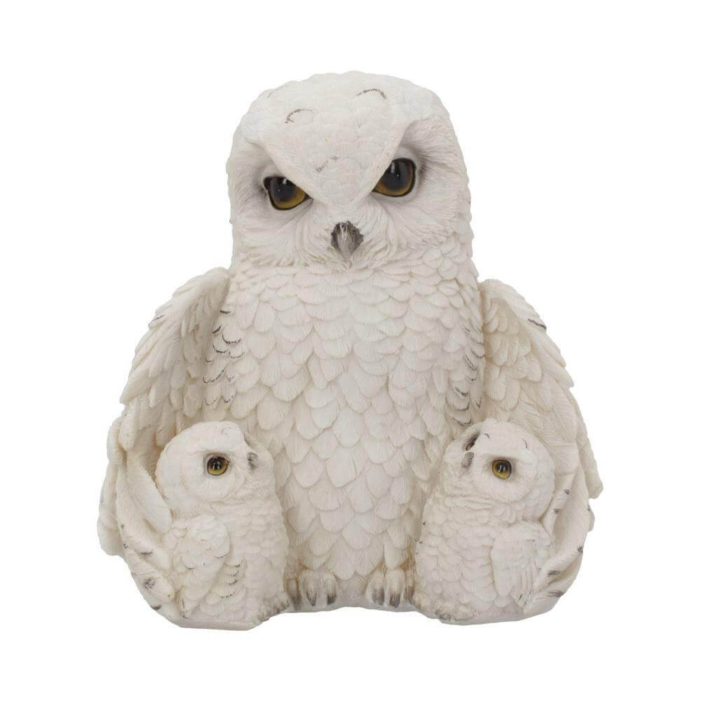 FEATHERED FAMILY (OWL) 21.5CM