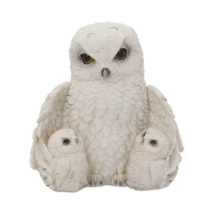 Official FEATHERED FAMILY (OWL) 21.5CM at the best quality and price at House Of Spells- Harry Potter Themed Shop In London. Get Your FEATHERED FAMILY (OWL) 21.5CM now with 15% discount using code FANDOM at Checkout. www.houseofspells.co.uk.