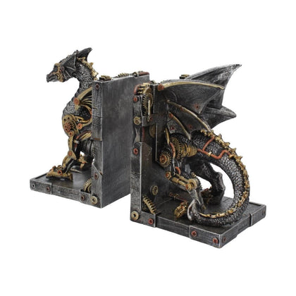 Official Dracus Machina Bookends at the best quality and price at House Of Spells- Harry Potter Themed Shop In London. Get Your Dracus Machina Bookends now with 15% discount using code FANDOM at Checkout. www.houseofspells.co.uk.