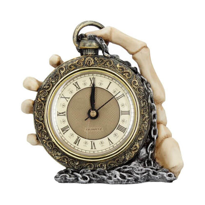 Official Clock About Time 14cm at the best quality and price at House Of Spells- Harry Potter Themed Shop In London. Get Your Clock About Time 14cm now with 15% discount using code FANDOM at Checkout. www.houseofspells.co.uk.