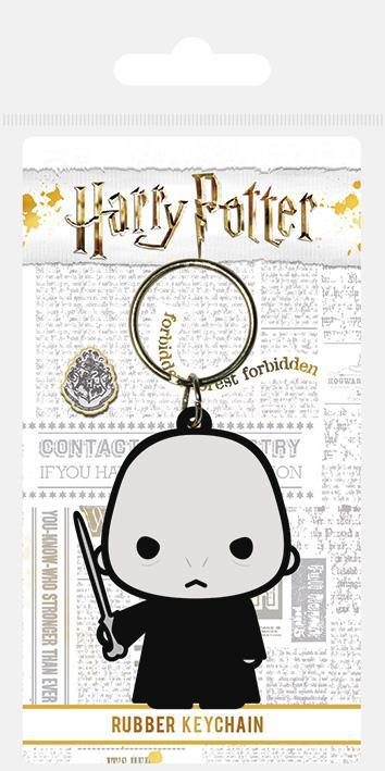 Lord Voldemort Rubber Keyring - House Of Spells