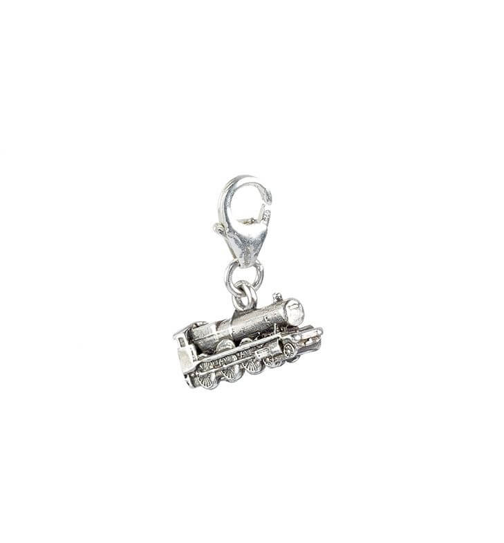 Hogwarts Express Train Sterling Silver Clip on Charm
