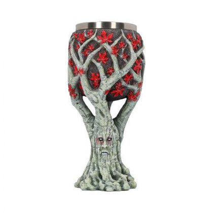 Official Weirwood Tree Goblet (GOT) 17.5cm at the best quality and price at House Of Spells- Fandom Collectable Shop. Get Your Weirwood Tree Goblet (GOT) 17.5cm now with 15% discount using code FANDOM at Checkout. www.houseofspells.co.uk.