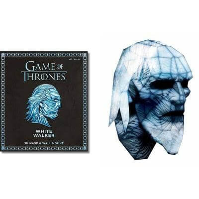 Game of Thrones White Walker Mask and Wall Mount