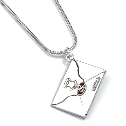 Official Hogwarts Letter Necklace at the best quality and price at House Of Spells- Fandom Collectable Shop. Get Your Hogwarts Letter Necklace now with 15% discount using code FANDOM at Checkout. www.houseofspells.co.uk.