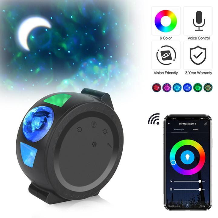 Starry Sky Projector Star Night Light Projection 6 Colors - ObeyKart