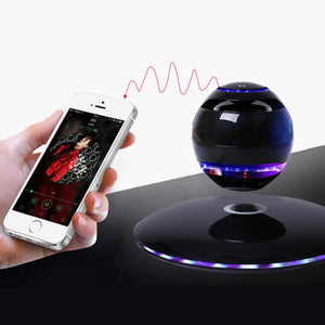 Magnetic Levitating Bluetooth Floating Speakers - LED Stunning Effects
