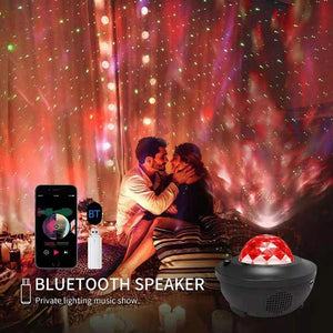 Star Projector Night Light with Sky Laser