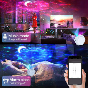 Starry Sky Projector Star Night Light Projection 6 Colors