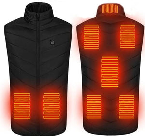 Heated Vest - #2020 New Electric Heated Vest With 8 Heating Areas