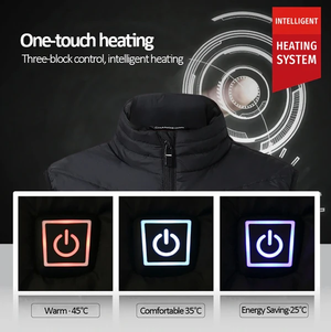 Heated Vest - #2020 Electric Heated Vest With 8 Heating Areas - Unisex