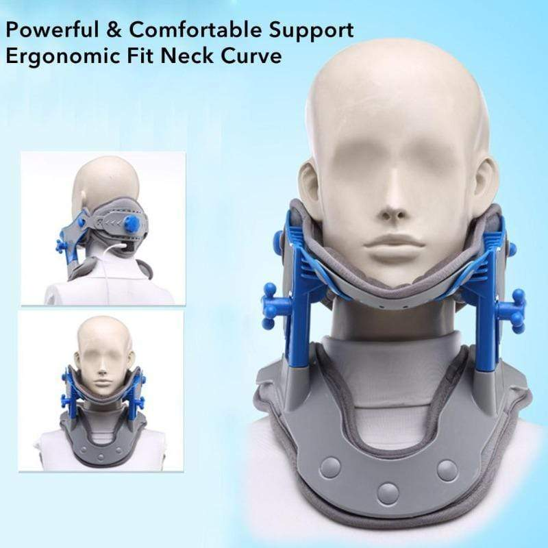 Heating Cervical Neck Traction Device by MaxzDeal - Top Trendy Zone