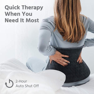 weighted heating pad