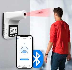 Wall Thermometer With Bluetooth - #2020 Upgraded Wall Thermometer
