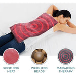 calming weighted heating pad