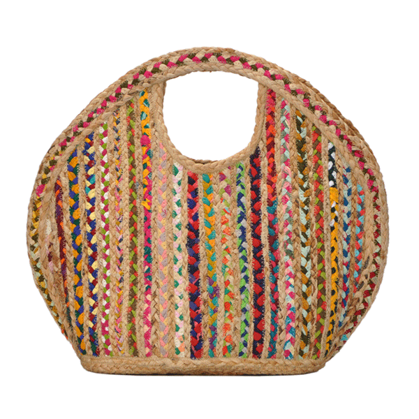 Molly Jute satchel bag