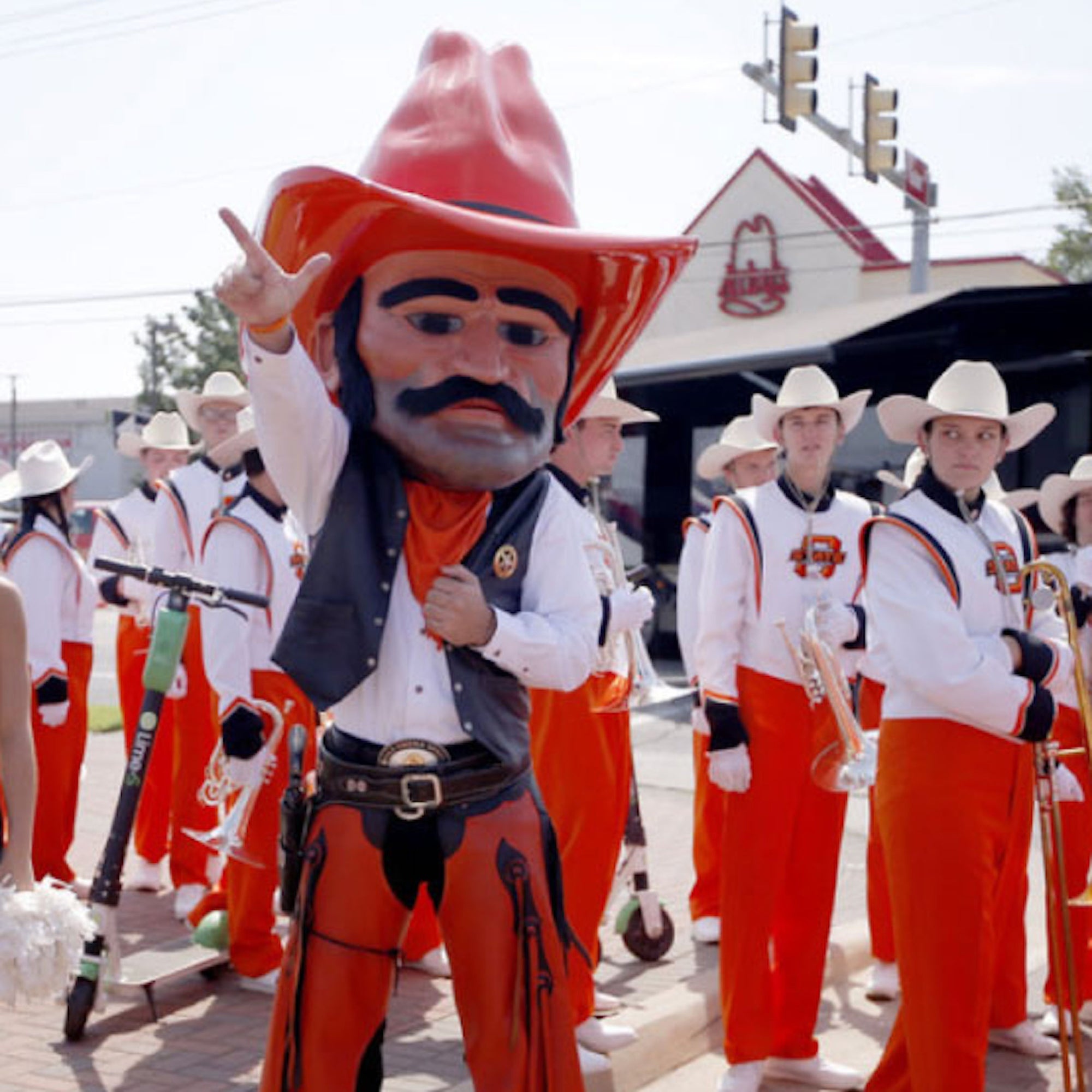 HOW TO MAKE A MASCOT HEAD - OSU PISTOL PETE