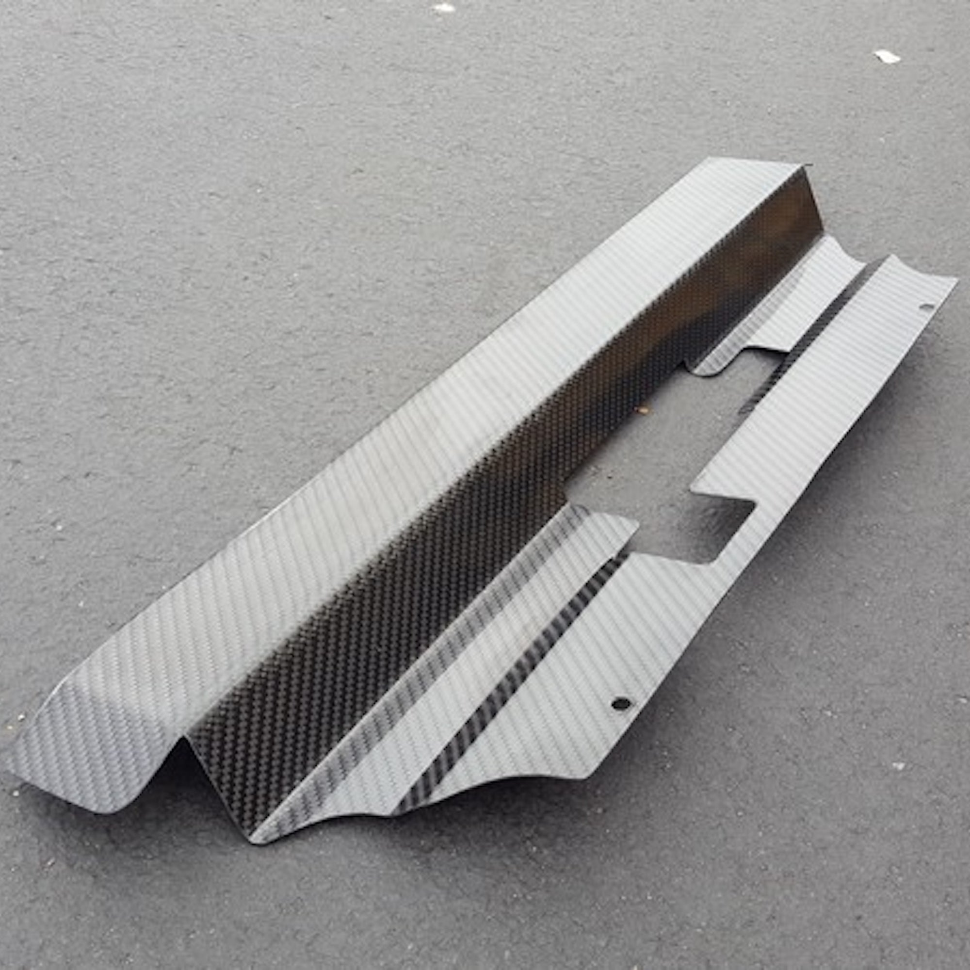 HOW TO MAKE A CARBON FIBER '99-'04 FORD MUSTANG RADIATOR COVER