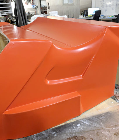 Fiberglass Mold for Carbon Fiber Spoiler Wing