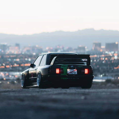Final SEMA 2018 BMW E30 Widebody Kit