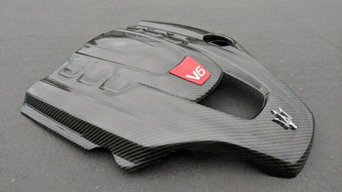 Maserati Engine Cover Carbon Fiber Final