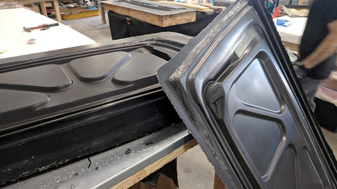 Carbon Fiber '69 Charger Trunk Bottom and Mold