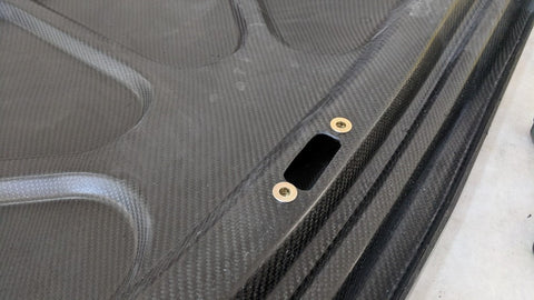 Carbon Fiber '69 Charger Trunk Insert