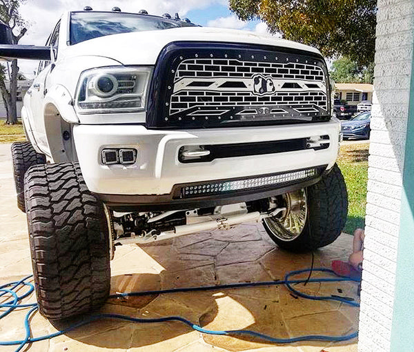 "42"" Black Edition Cree LED Light Bar Curved"