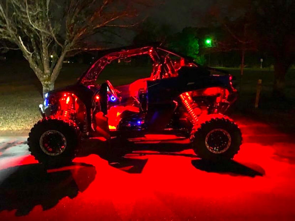 Premium RGB+W Rock Lights 4-24 Piece Kits - Adrenaline Offroad Outfitters