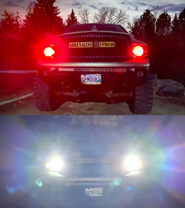 Multicolor LED Headlights (Pair) - Adrenaline Offroad Outfitters