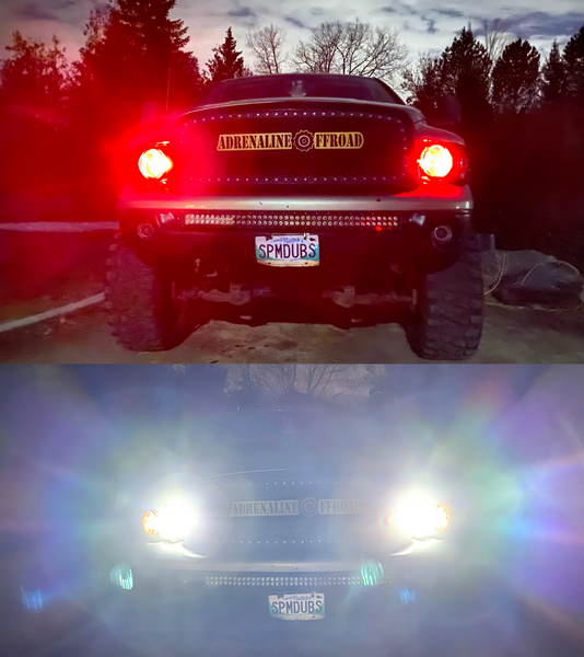 RGB+W LED Headlights (Pair) - Adrenaline Offroad Outfitters