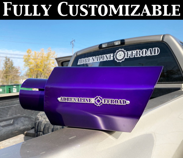 Custom Exhaust Tips - Adrenaline Offroad Outfitters