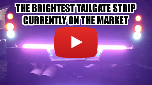 LED Chasing Tailgate Strip (1080 LED Chips)