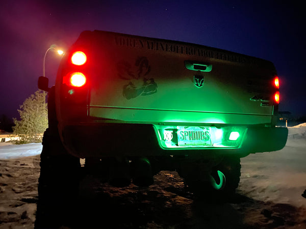 LED License Plate Lights (T10 Single Color) - Adrenaline Offroad Outfitters