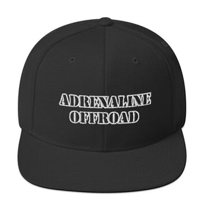 Adrenaline Offroad Snapback Hat (Black) - Adrenaline Offroad Outfitters
