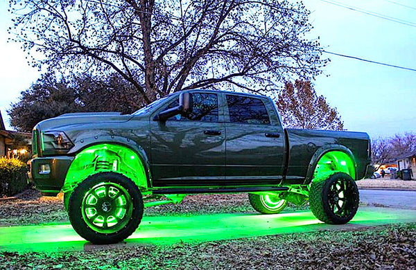 """THE EXTRAORDINARY BLAZING"" Bundle Kit (Rock + Wheel Lights) - Adrenaline Offroad Outfitters"