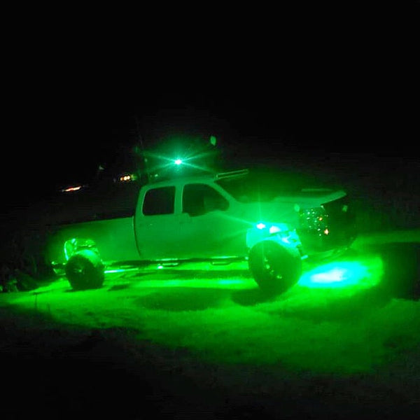 12 Piece Multi-Color Rock Light Kit - Adrenaline Offroad Outfitters