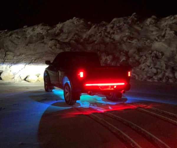 LED Chasing Tailgate Strip (1080 LED Chips) - Adrenaline Offroad Outfitters