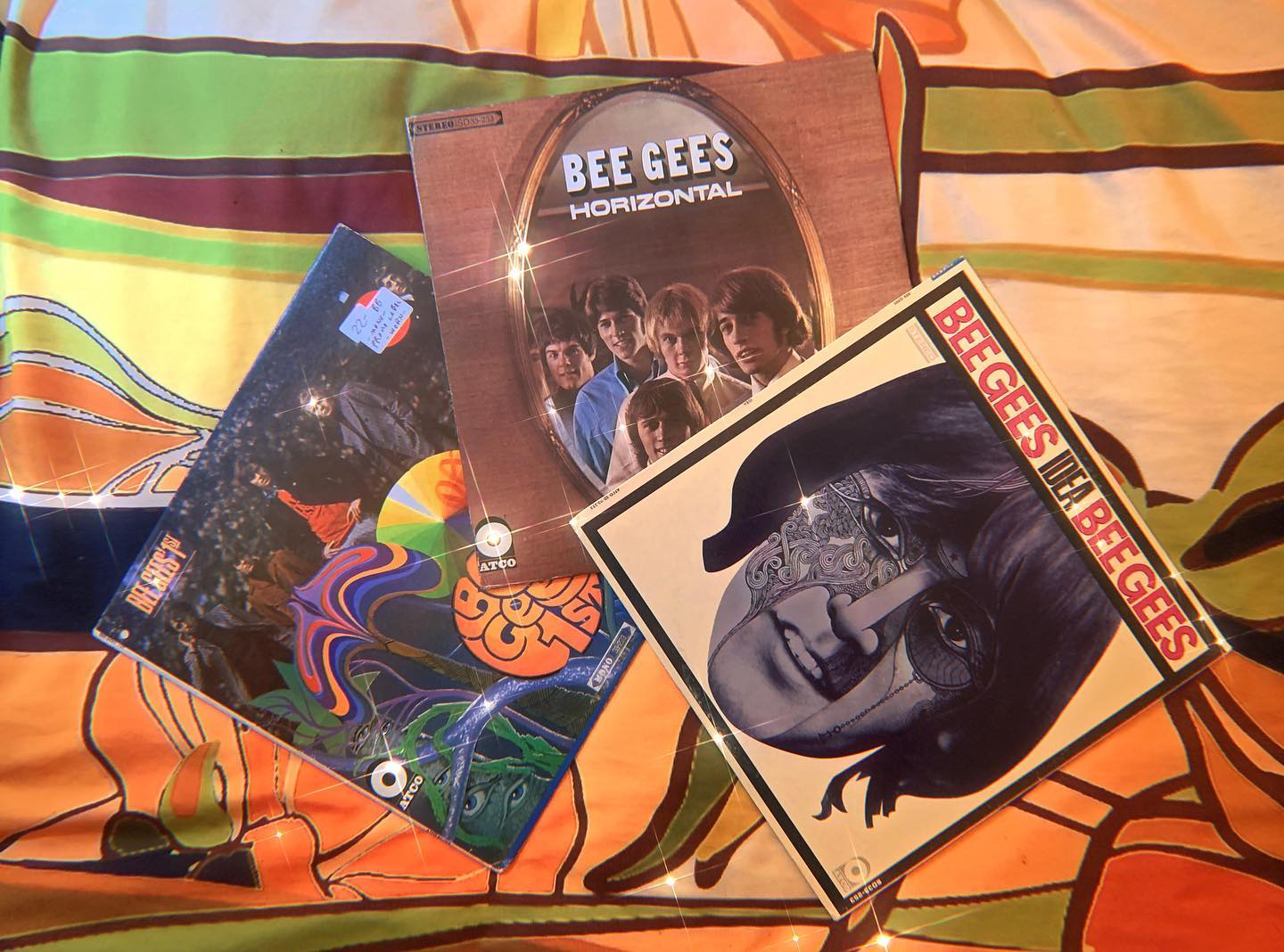 Vinyl-a-Day 22: The Bee Gees - 1st, Horizontal & Idea (Polydor/Atco, 1967-1968)