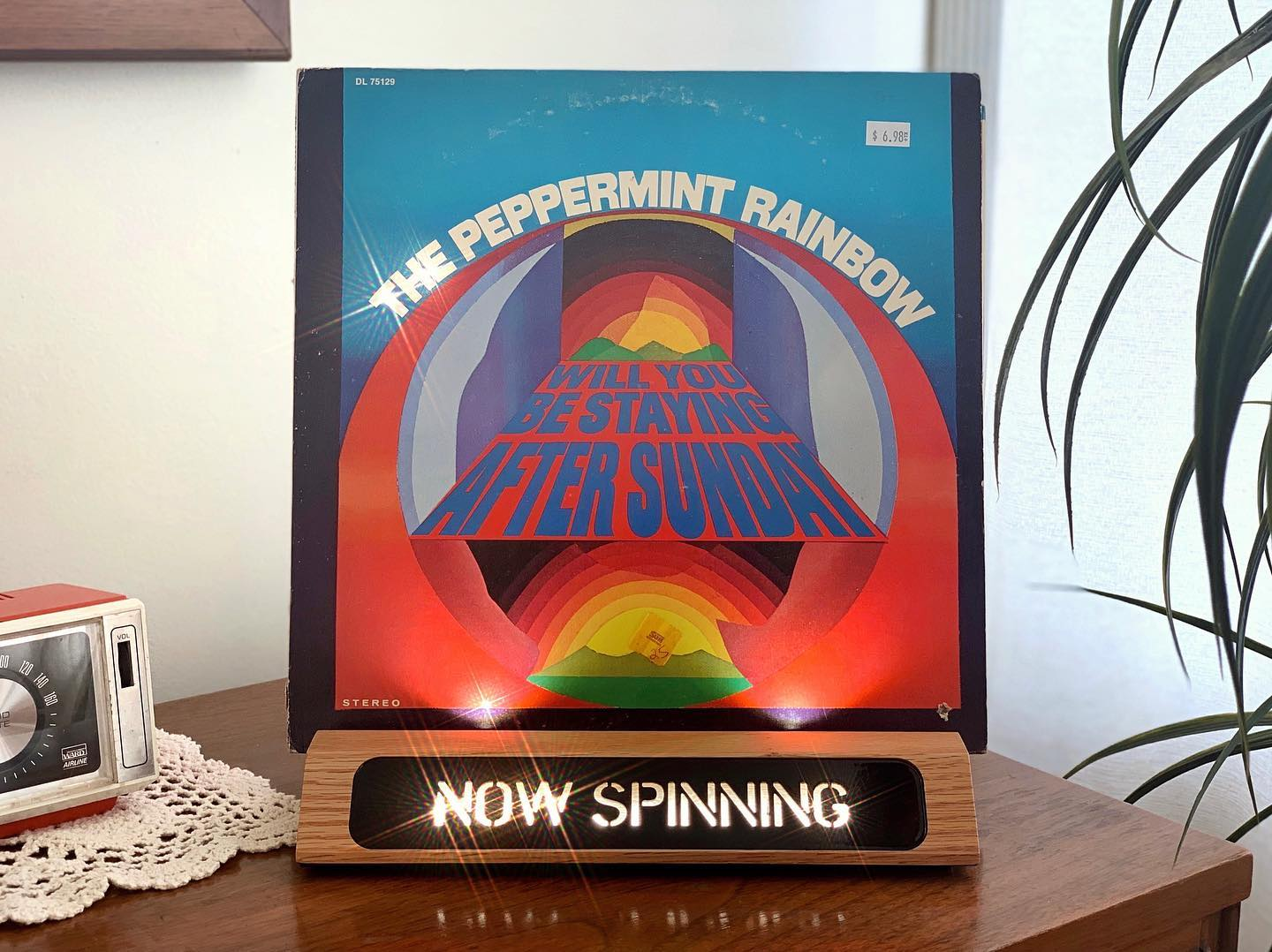 Vinyl-a-Day 30: The Peppermint Rainbow - Will You Be Staying After Sunday? (Decca, 1969)