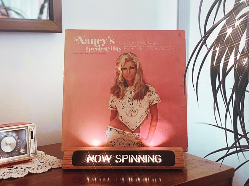 Vinyl-a-Day 32: Nancy Sinatra - Nancy's Greatest Hits: With a Little Help From Her Friends (Reprise, 1970)