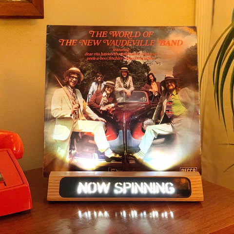 The New Vaudeville Band - The World of the New Vaudeville Band (Decca, 1974)