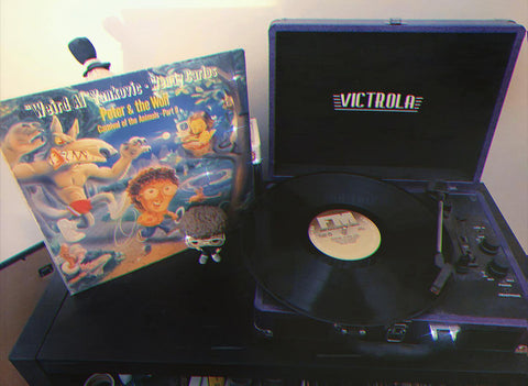 """Weird Al"""" Yankovic and Wendy Carlos- Peter & The Wolf/Carnival of the Animals- Part II (CBS, 1988)"""